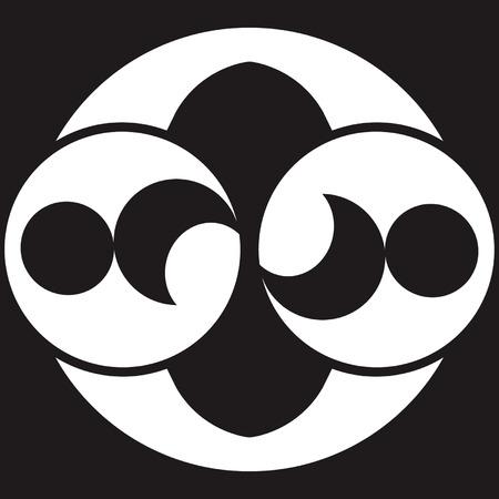UFO gewas cirkel design