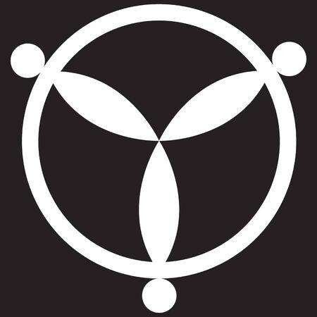 UFO gewas cirkel ontwerp