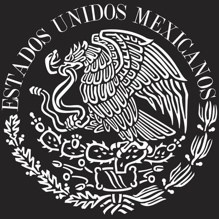 logo de comida: Logo bandera de M�xico  Vectores