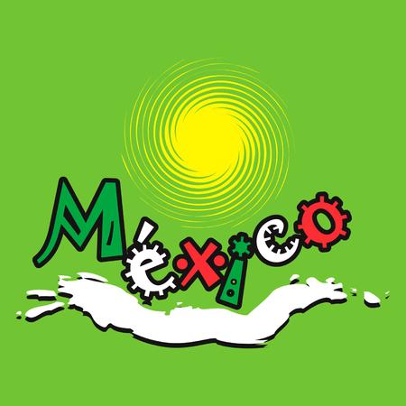 Mexican oceanlife logo Stock Vector - 3306082