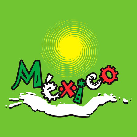 Mexican oceanlife logo Vector