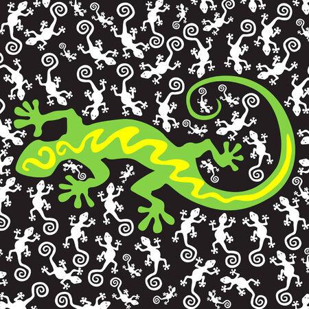Moeder gecko