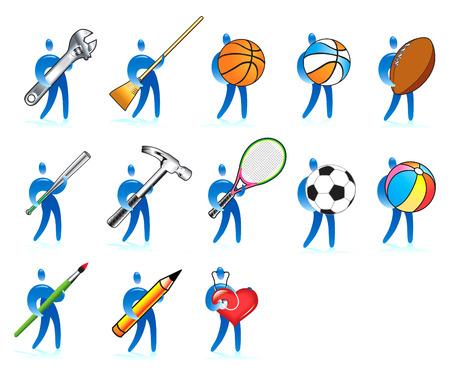 raquet: Human skills guys