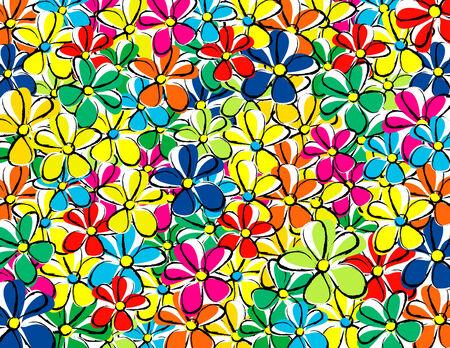 Bloemen textuur