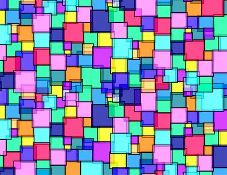 Vierkante glas levendige textuur