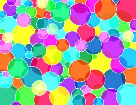 Transparante bubbles textuur Stockfoto