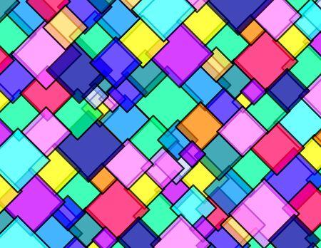 Rhombus pattern glass Stock Photo - 6229198