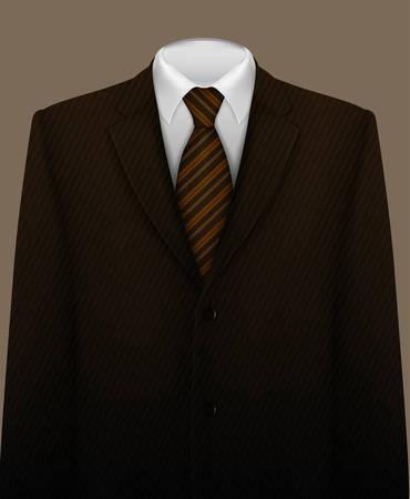 Tuxedo vector background with bow tie Ilustração