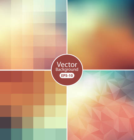 Colorful modern geometrical abstract background Illustration
