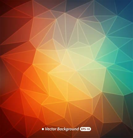 Zusammenfassung bunten Hintergrund polygonalen Standard-Bild - 32982399