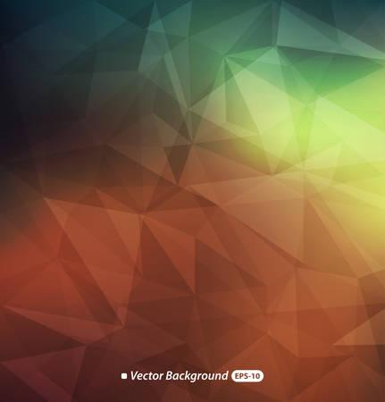Astratto sfondo colorato poligonale Archivio Fotografico - 32987252