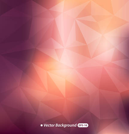 Abstract colorful polygonal background Ilustração