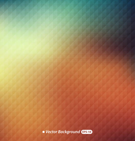 natural background: Abstract colorful with triangular pattern