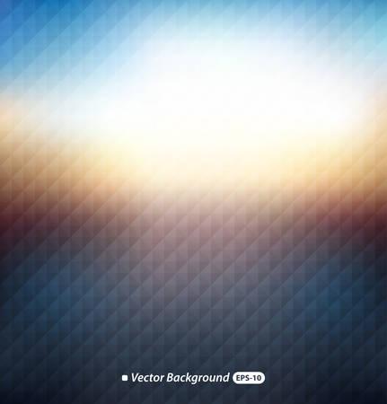 Blurred background with triangular pattern Illustration