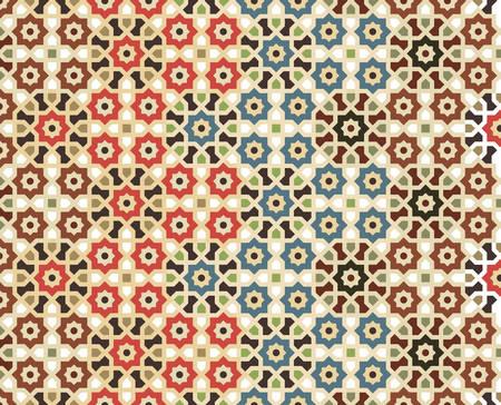 Vector seamless pattern, islamic pattern