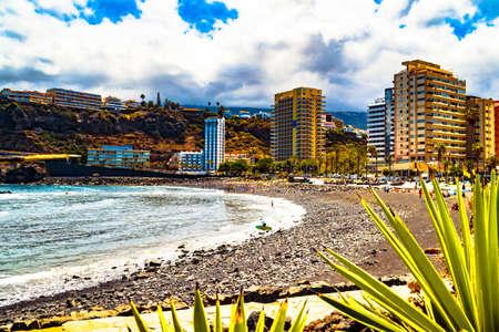 Tenerife, Canary Islands - Martianez beach in Puerto de la Cruz