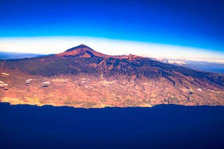 Tenerife Island aerial panorama Archivio Fotografico
