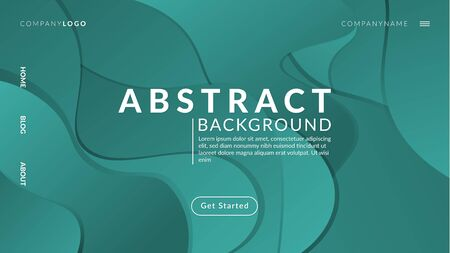 Dynamic Modern Gradient Abstract Background Vector Archivio Fotografico - 129227391