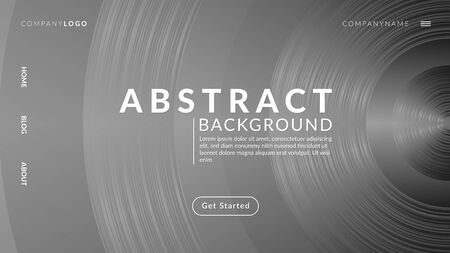 Abstract Background Futuristic Technology Style Archivio Fotografico - 129227206