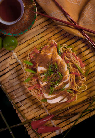 Southwestern Soba with Chicken