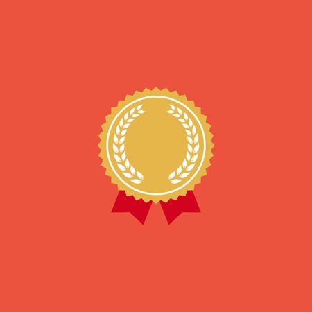 Medal icon  イラスト・ベクター素材