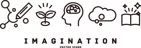 [imagination] vector icons