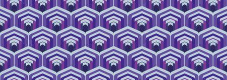 70's retro pattern material vector illustration Vettoriali