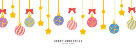 Illustration material with Christmas motif