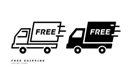 Free shipping vector illustration icon