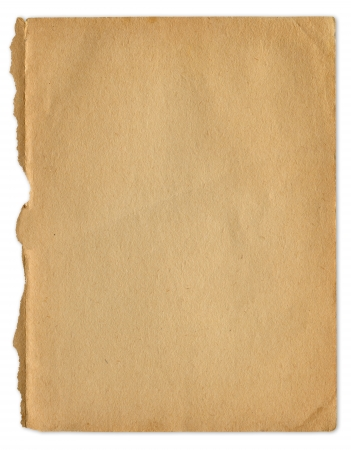 antique paper: Extra large grunge antique old paper texture, clipping path included.