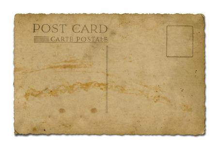 usps: Postcard back  Stock Photo