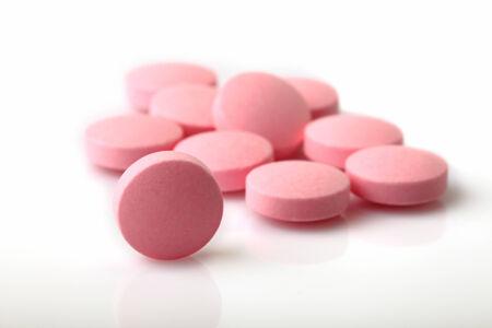Pills on White  photo