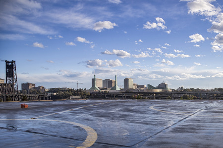 heliport: View from heliport platform Editorial