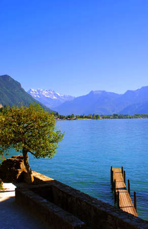 waterscape, Lake Geneva, Switzerland