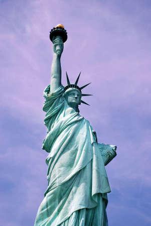 emigrant: Statue of Liberty Stock Photo