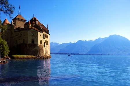 chillon: Chillon Castle, Switzerland