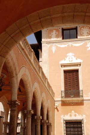 doctrine: Almudaida Palace, Palma de Mallorca Stock Photo