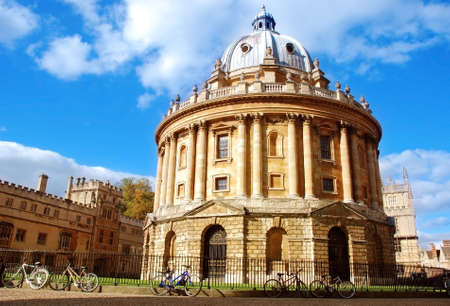 The Radcliffe Camera, Oxford 免版税图像
