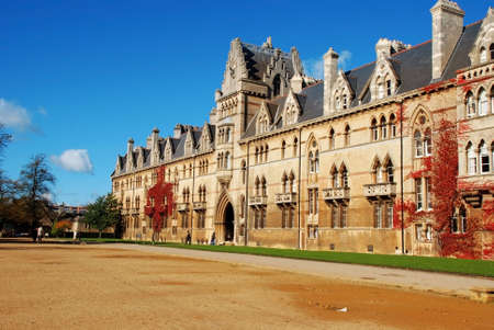 christ church: Christ Church College, Oxford Stock Photo