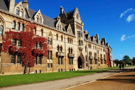 Christ Church College, Oxford Stock Photo