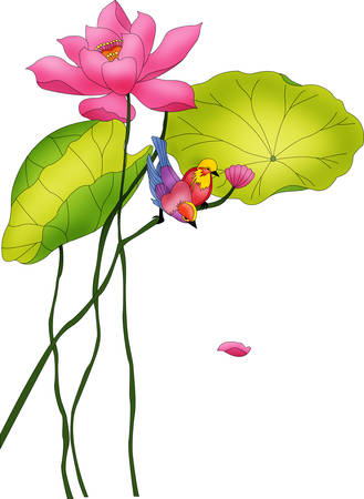 chinese landscape Illustration