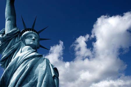 intresting: Statue of Liberty Stock Photo