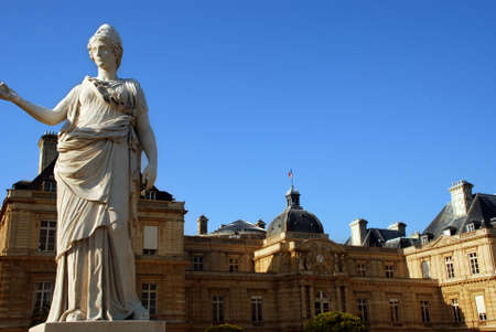 Jardin du Luxembourg Stock Photo - 2930198