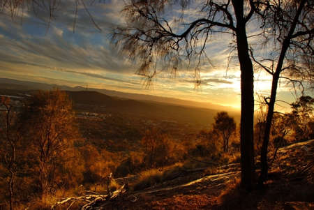 canberra: Ainslie mountain, Canberra