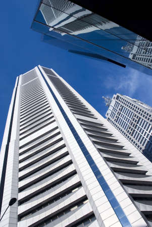 skyscrapers Stock Photo