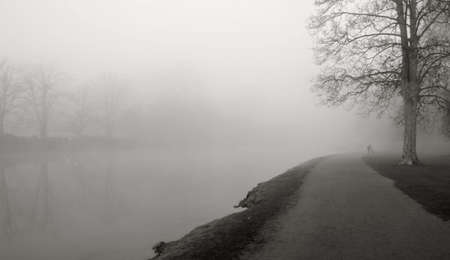 foggy landscape Stock Photo - 4030996