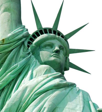 liberation: Statue of Liberty Stock Photo