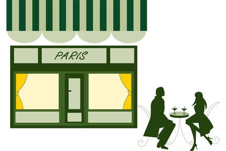 parisian: parisian cafe