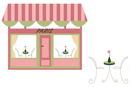 parisian cafe Stock Vector - 6076270