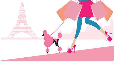 parisian shopping
